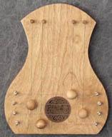 door harp birch/celtic & TK Ou0027Brienu0027s Pickinu0027 Stick