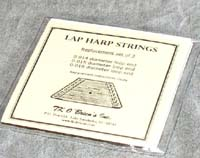 lap harp strings